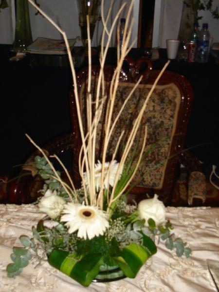 Centro de mesa - Centros de flores naturales ...