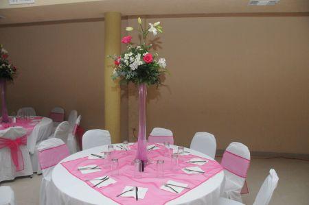 Arreglos florales de mesa para XV años - Imagui