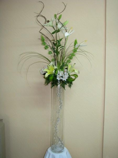 Arreglos florales artificiales para boda imagui for Centros de mesa artificiales